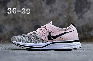 9898b20a265 Womens Nike Air Zoom Mariah Flyknit Racer Running Shoes Pink White Black