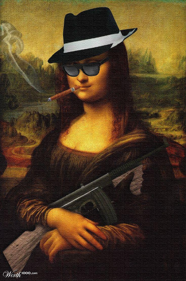Mafia Lisa / MonAl Capone