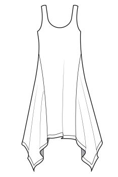 S/S 14 Paris catwalks: handkerchief hem dress and skirts