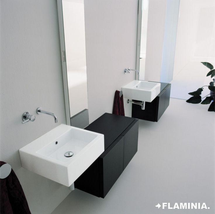 Ceramica Flaminia - Lavabi/Basins, G. Cappellini - R. Palomba - 1997  #CeramicaFlaminia #Design #Ceramic