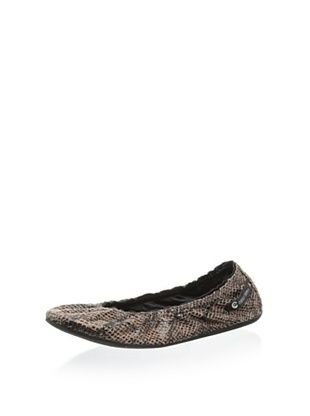 58% OFF Ballasox by Corso Como Women's Prince Ballet Flat (Walnut New Snake)