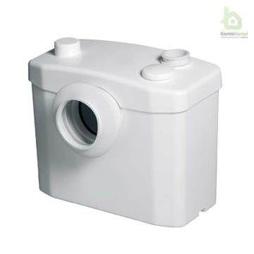 Sanitop  WC öğütücü, klozet ve lavabodan gelen tüm atık suyu ana gidere tahliye edebilmektedir.  Ev ve küçük iş yerlerine sonradan ilave edilen tuvaletler için uygundur. Ters dubleks, bodrum kat, çatı katı veya merdiven altı uygulamalar için ideal bir çözümdür. Kolay kurulumu sayesinde ardiye alanı kırmadan dökmeden tuvalete dönüştürülebilir, hasta veya engelli odasına tuvalet eklenebilir, sığınaklara iskan izni almayı mümkün kılar.  Herhangi bir arkadan çıkışlı klozete monte edilebilir…