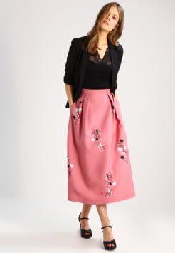 LK Bennett - DELISA - Długa spódnica - pri-bardot pink