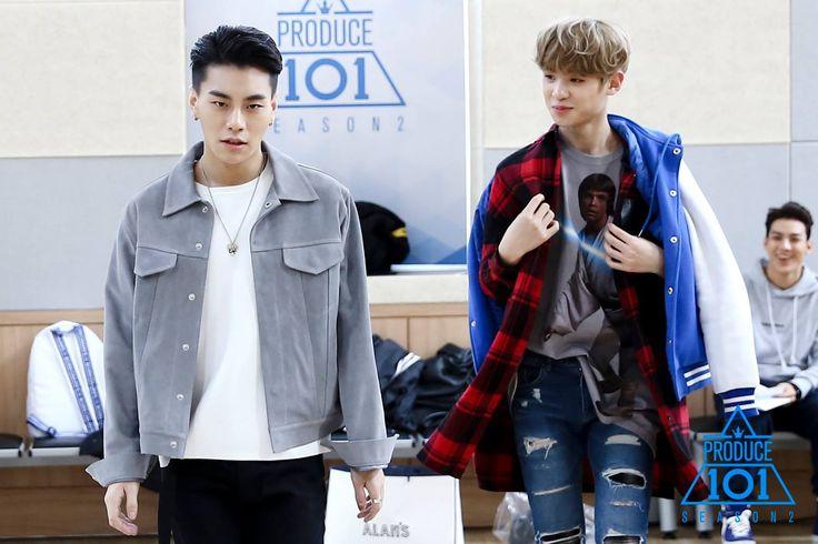 Sanggyun and Justin