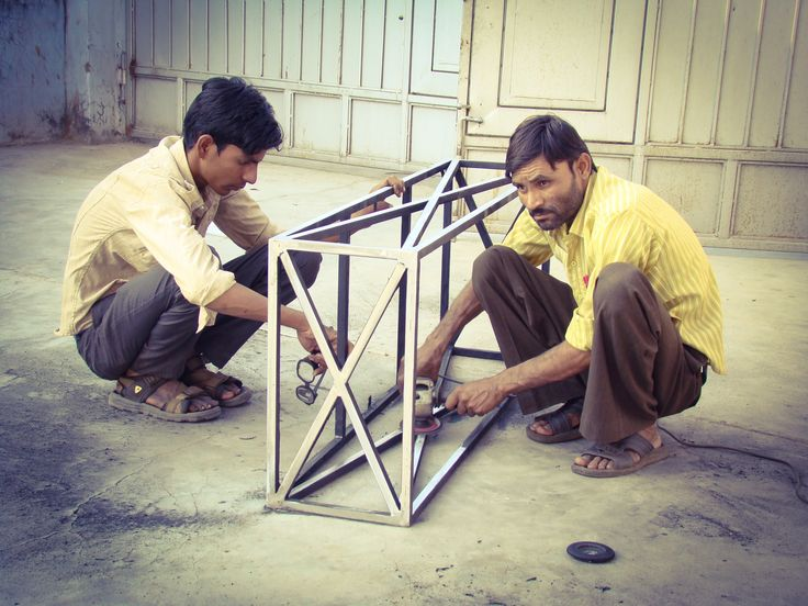making iron coffee tables