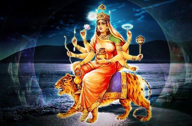 Fourth form of #NavDurga - Goddess #Kushmanda Read more https://goo.gl/SsPgHe