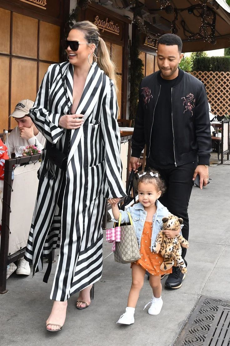 Chrissy Teigen and John Legend's Stylish Family Outing