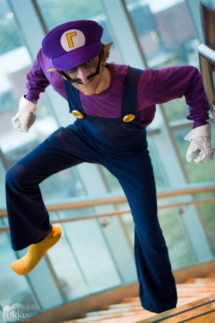 COSTUME FOR KIDS - SUPER MARIO / LUIGI / TOAD - NINTENDO - Waluigi by Twinzik Cosplay