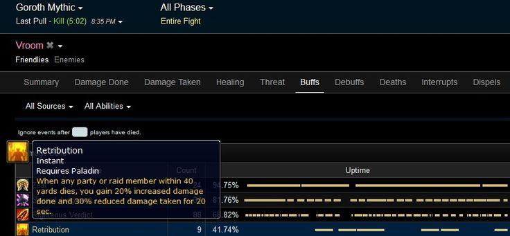 Why Retribution Paladin is good on progress fights #worldofwarcraft #blizzard #Hearthstone #wow #Warcraft #BlizzardCS #gaming