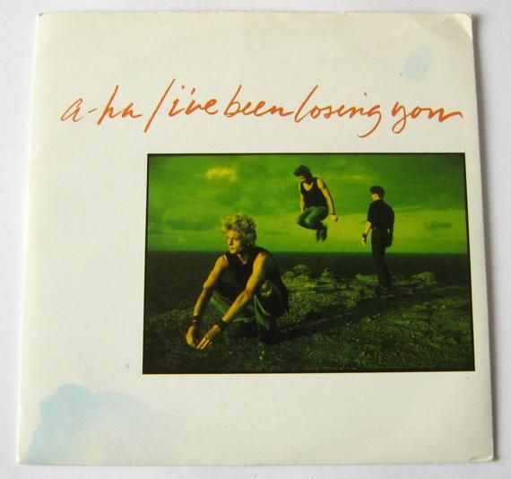 A Ha I Ve Been Losing You 7 Vinyl Single Record 45 Rpm 1988