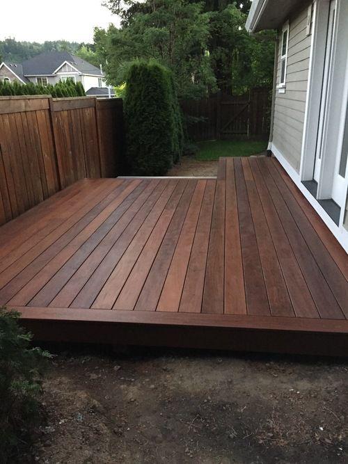 Ipe Deck In 2019 Building A Deck Deck Design Deck Colors