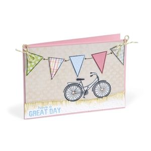 Have a Great Day Bicycle Card by Debi Adams