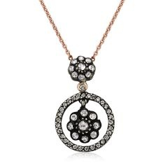 diamonds rose necklace http://goo.gl/Xz1YM
