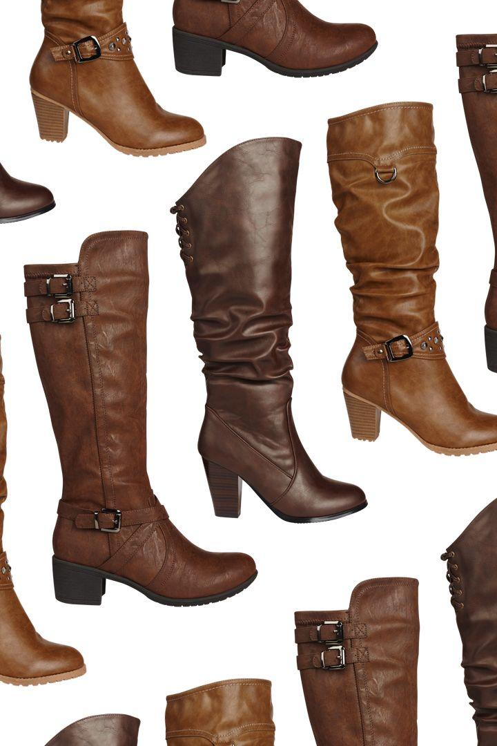 Les bottes aux teintes de terre sont très tendances #bottes #moka #marron #brun #caramel #sable