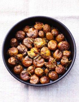 Petites pommes de terre écrasées  - ELLE