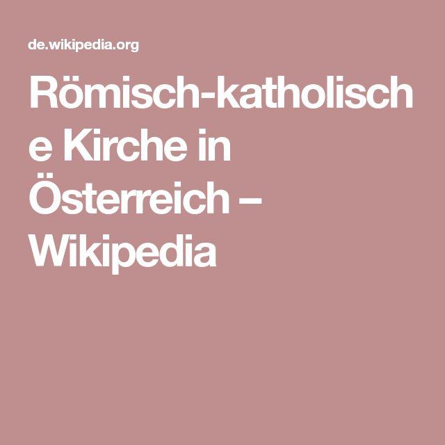 Römisch-katholische Kirche in Österreich – Wikipedia
