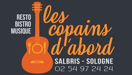 Les Copains d'Abord restaurant et concerts à Salbris en Sologne (41)