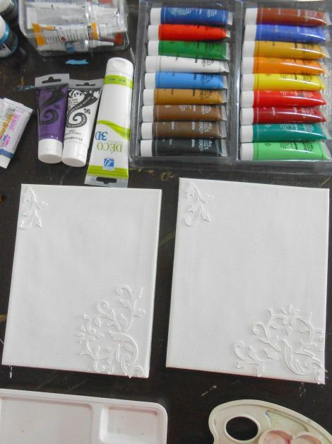 Petroschi Bianca - Pictura si deco aplicatii pe panza (3)
