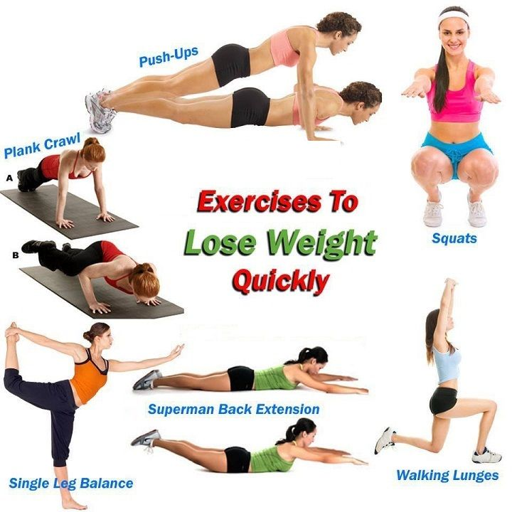 easy exercises to lose weight quick