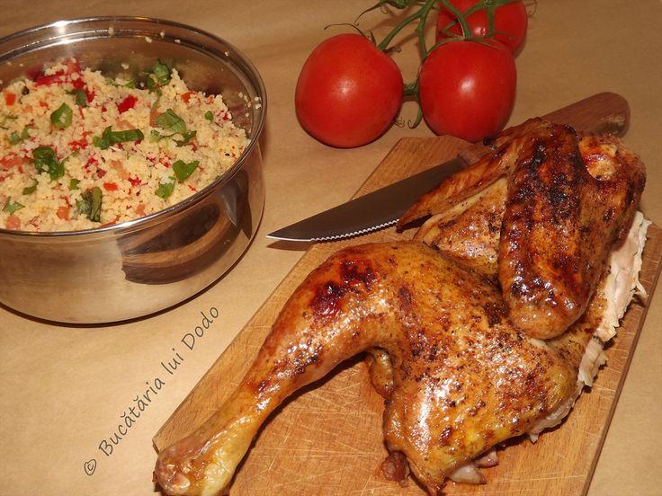 Salata caldă de couscous