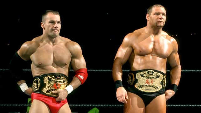 Lance Storm & Chief Morley had a brief reign as champions