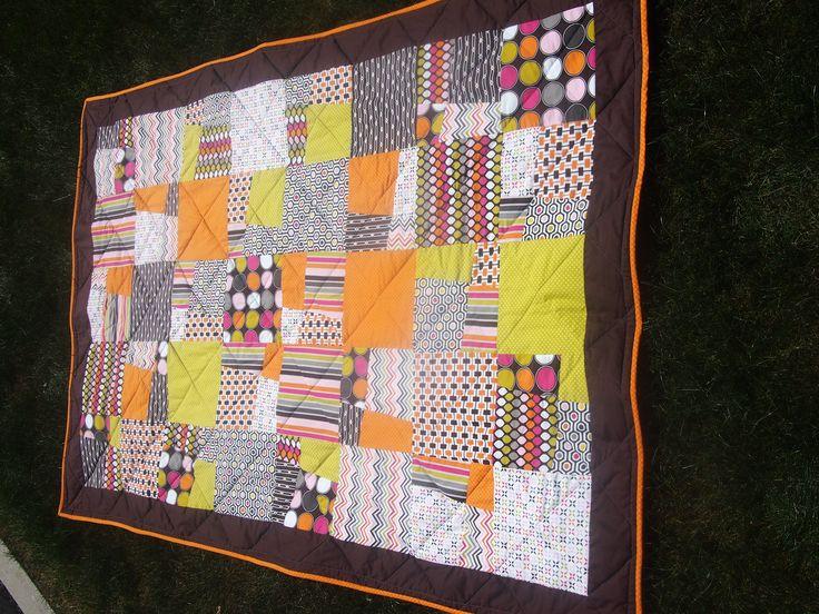Lap quilt for Sarah