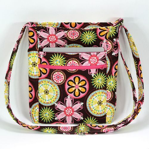 Enlarged Two Zip Hipster w/ iPad Pocket  --I need to buy this pattern.  Then I need to find this fabric, I love it!