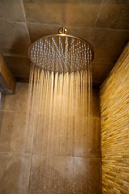 Ceiling rain shower head