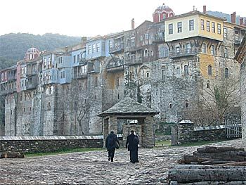 mount athos monasteries - Iveron Monastery, Mt. Athos