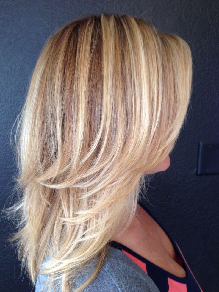 Blonde par moi