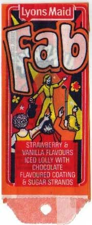 Lyons Maid Fab Ice Lolly 1976