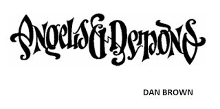 Thought with Pen: Book Review: Angels & Demons – Dan Brown
