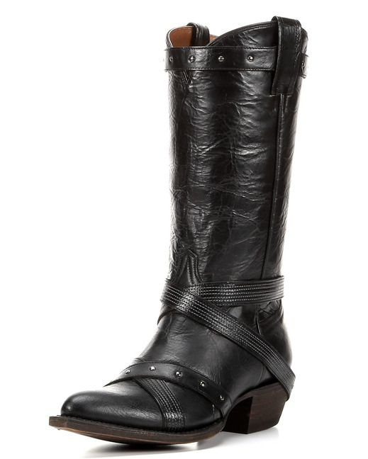 American Rebel Boot Company Women's Midnight Rider Boot - Manchester Black  http://www.countryoutfitter.com/products/106354-womens-midnight-rider-boot-manchester-black