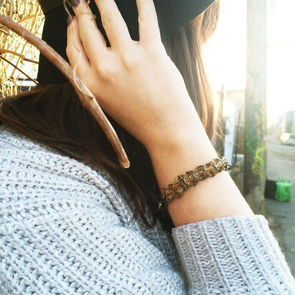 Conquer your fears in our Rattlesnake Bracelet