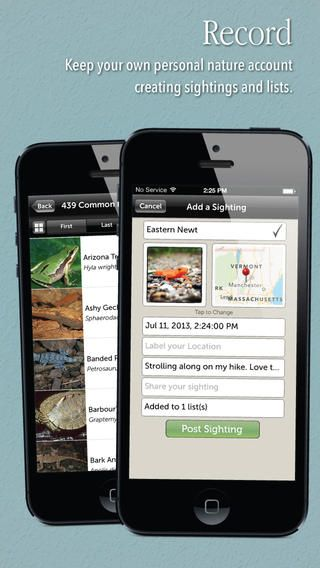 Audubon Reptiles and Amphibians App – A Field Guide to North American Reptiles and Amphibians