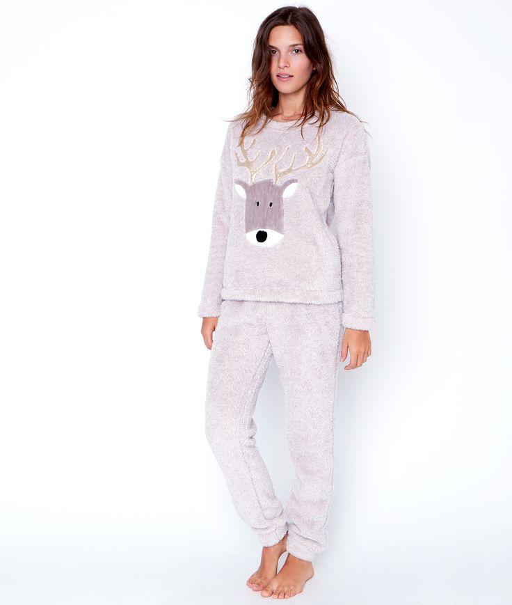 Pyjama 2 pièces toucher polaire - Tous les pyjamas - Modèles - Nuit  Taille L