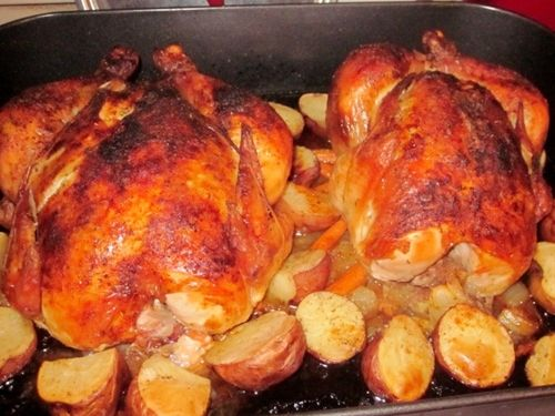 Best roast chicken recipe EVER