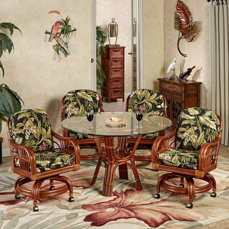 17 Best Ideas About Tropical Dining Sets On Pinterest