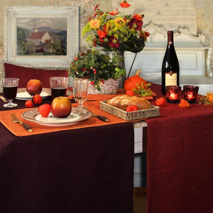 Gedeckter Tisch Im Garten: 1000+ Images About Tische Dekorieren Im Herbst On