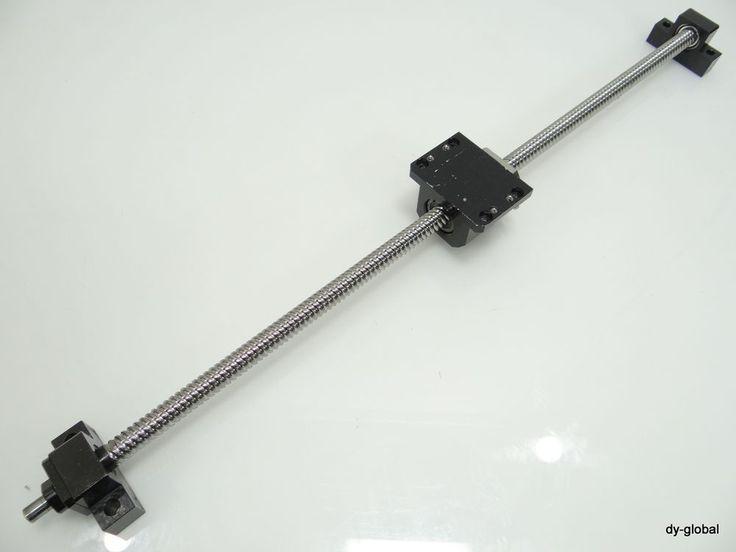 2020+808mm Rexroth Rolled Ball Screw Used 1503 170 65 EK15+EF15 Nut Bracket #RexrothBosch