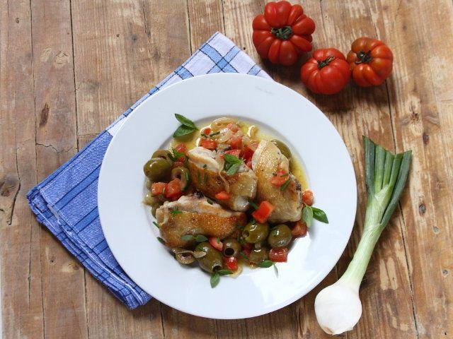 Ponad 25 najlepszych pomysłów na temat Ricetta pollo con olive ...