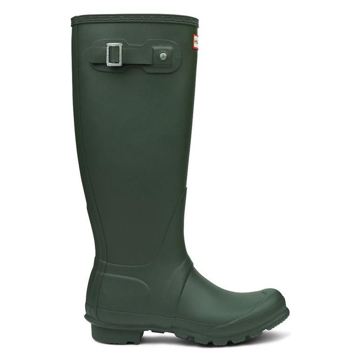 Original Tall - Dark Olive – Hunter Boots Australia