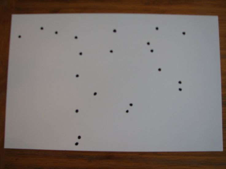 What picture do the stars make alone and with lines, then check illustrations