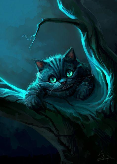 cheshire cat2015salamandrasdevi on deviantart