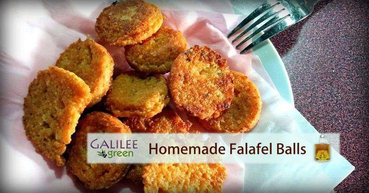 Israeli Homemade Falafel Balls