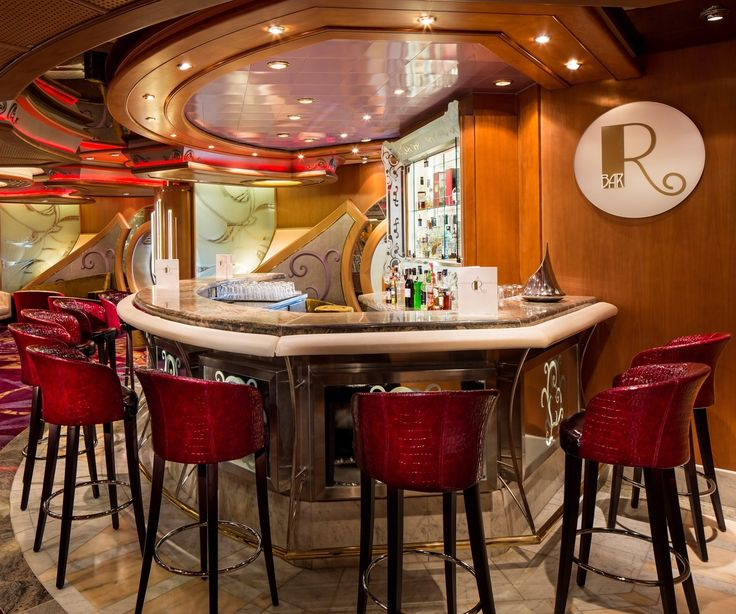 Join us for a drink at the R Bar on Navigator of the Seas.: Caribbean Press, Royals Caribbean ️, Caribbean Ships, Bar, Navig, Drinks, The Sea
