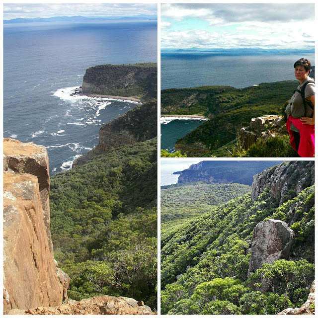 This is a great walk in the South of Tasmania to Ship Stern Bluff and Caoe Raoul