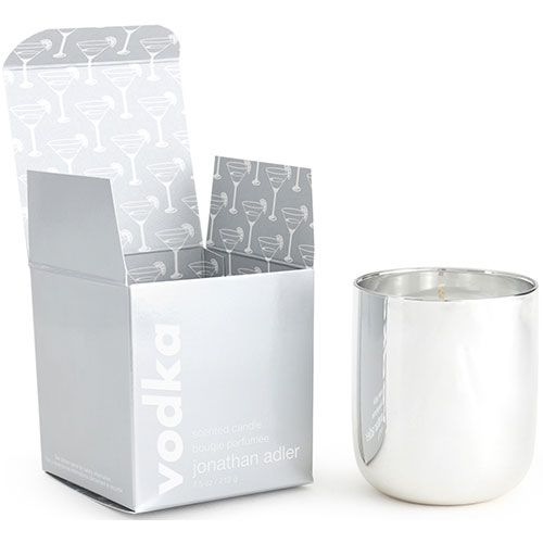 Jonathan Adler Scented Pop Candle | Vodka | Silver