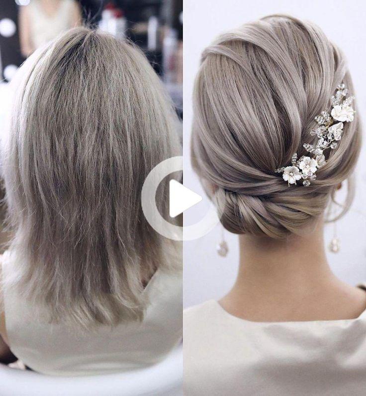 20 wunderschöne Hochzeitsfrisuren für kurzes Haar und