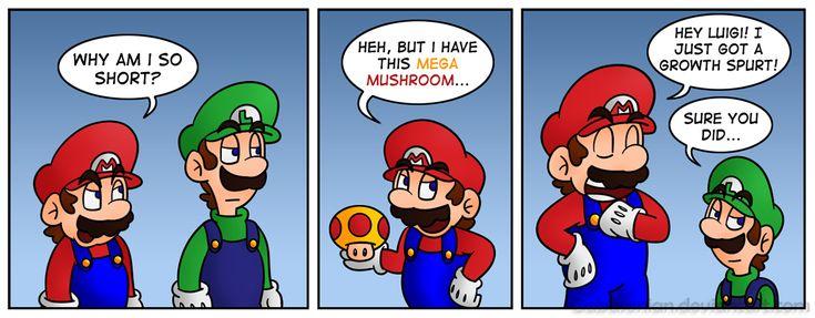 why am i so short but i have a mega mushroom i guess i ...